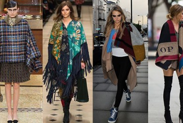 Capas y ponchos a MUST for fall